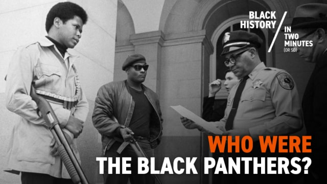 The Birth of the Black Panther Party | Black History in Two Minutes