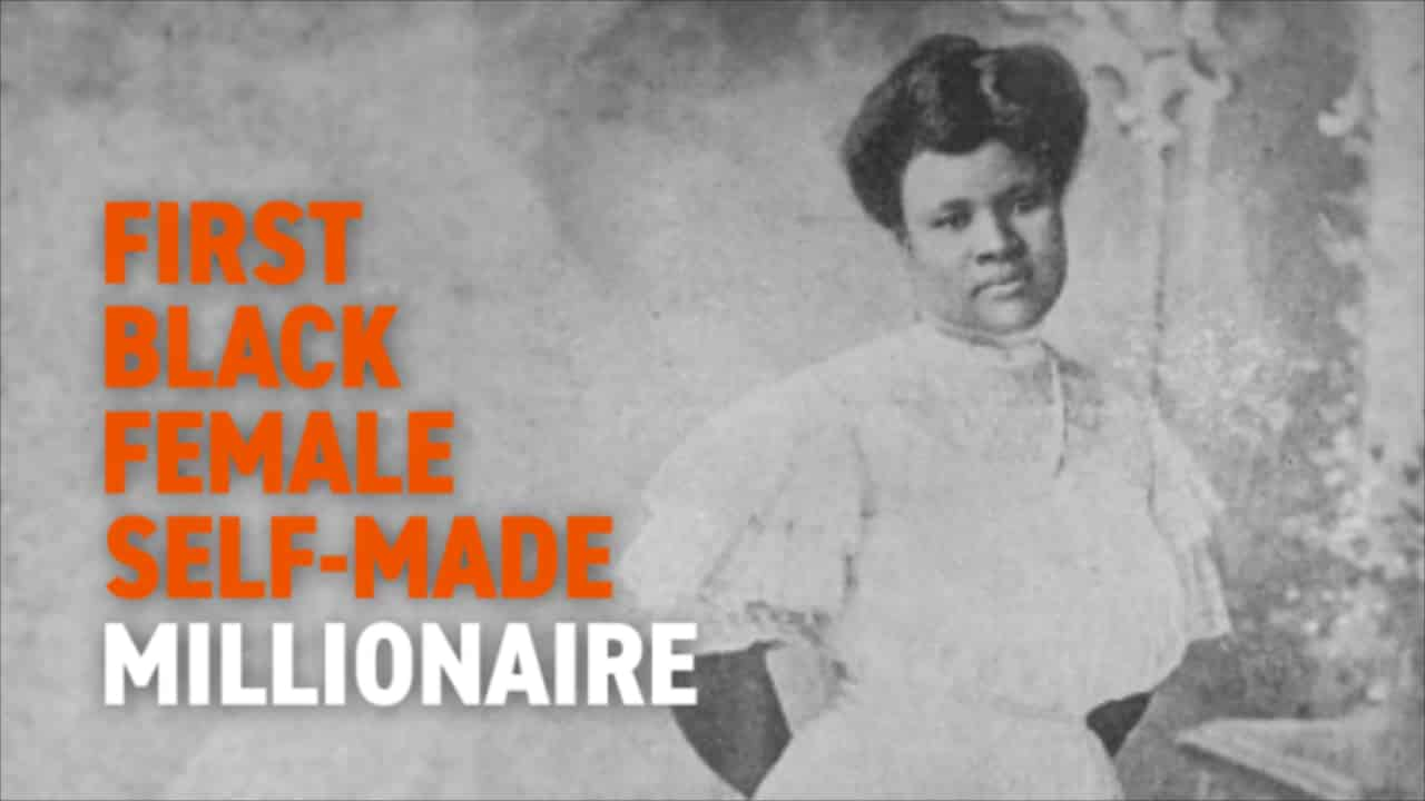 Madame C.J. Walker: The First Black Millionairess