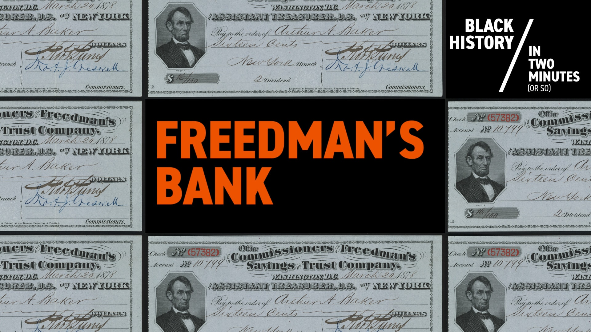 Freedman's Bank | Black History in Two Minutes