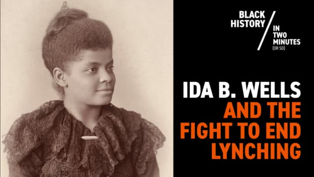 Ida B. Wells: Fearless Investigative Reporter of Southern Horrors