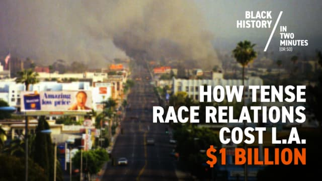 The L.A. Riots | Black History in Two Minutes