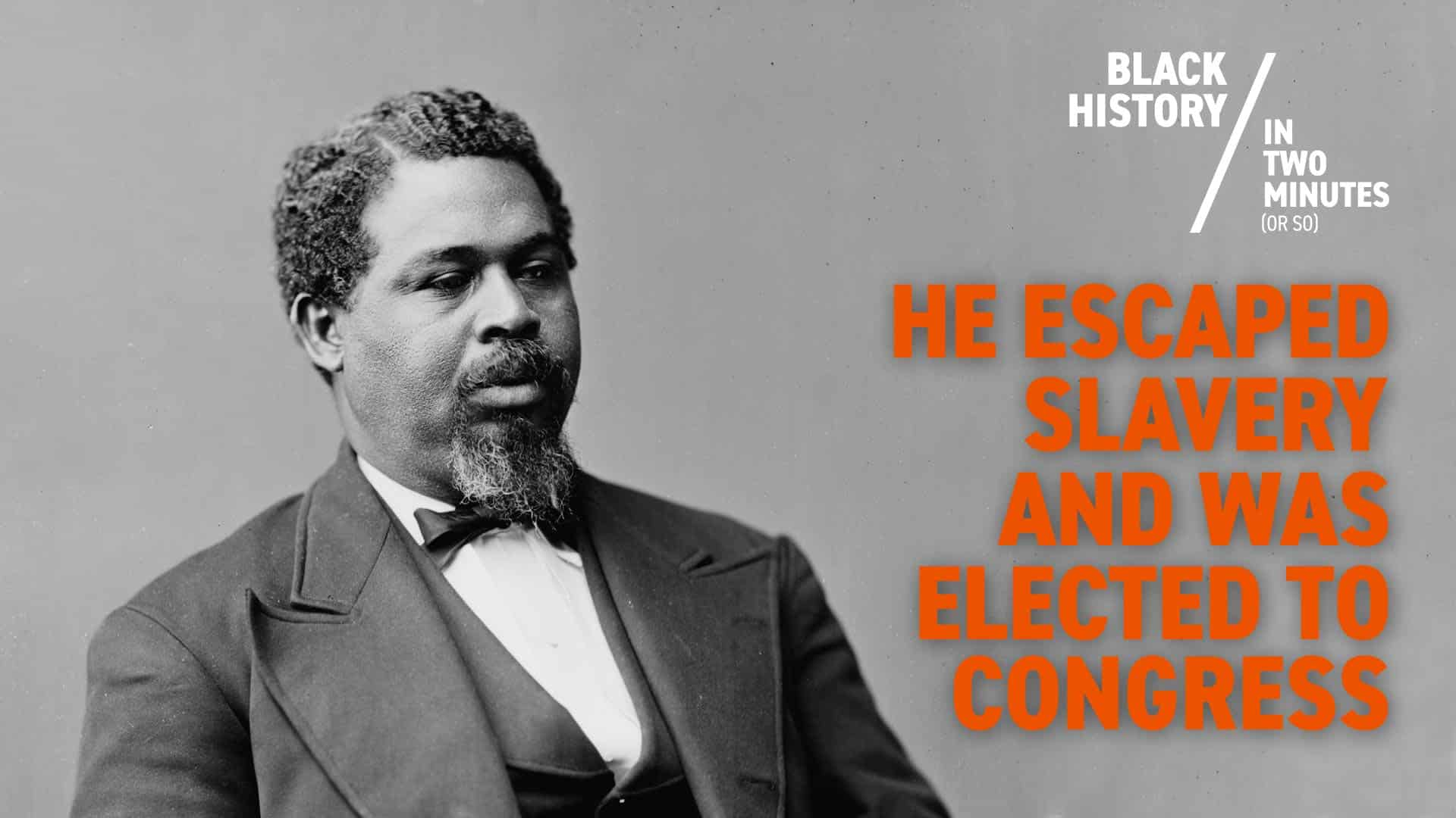 Robert Smalls: A Slave Who Sailed Himself to Freedom | Black History in Two Minutes