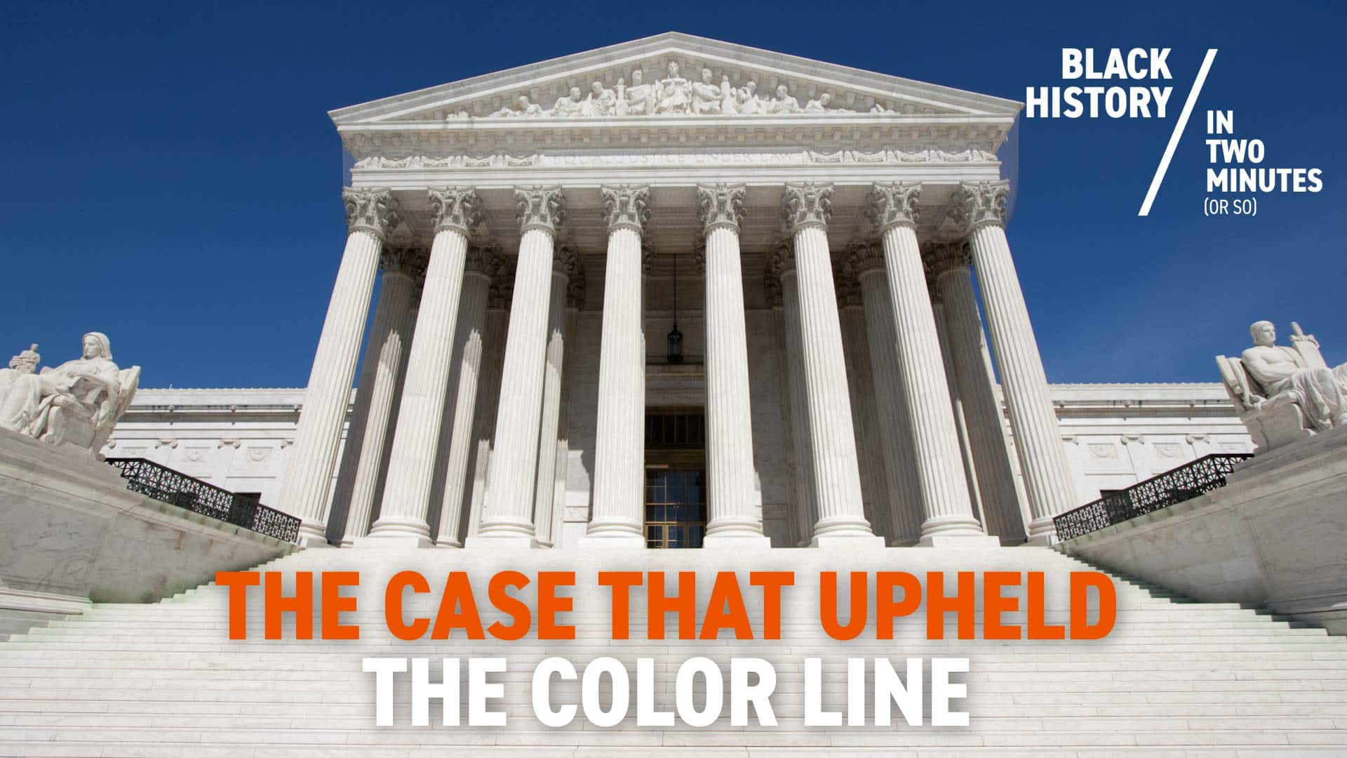 Separate But Equal: Homer Plessy and the Case That Upheld the Color Line