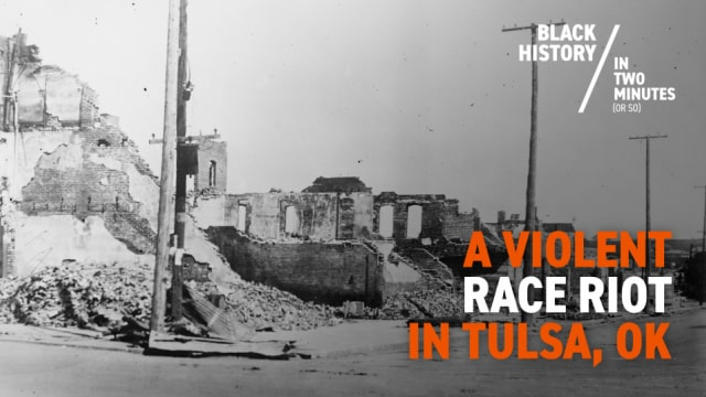 The Tulsa Race Riots | Black Wall Street