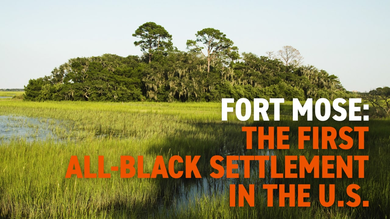 Fort Mose: The First All-Black Settlement in the U.S. | Black History in Two Minutes (or so)