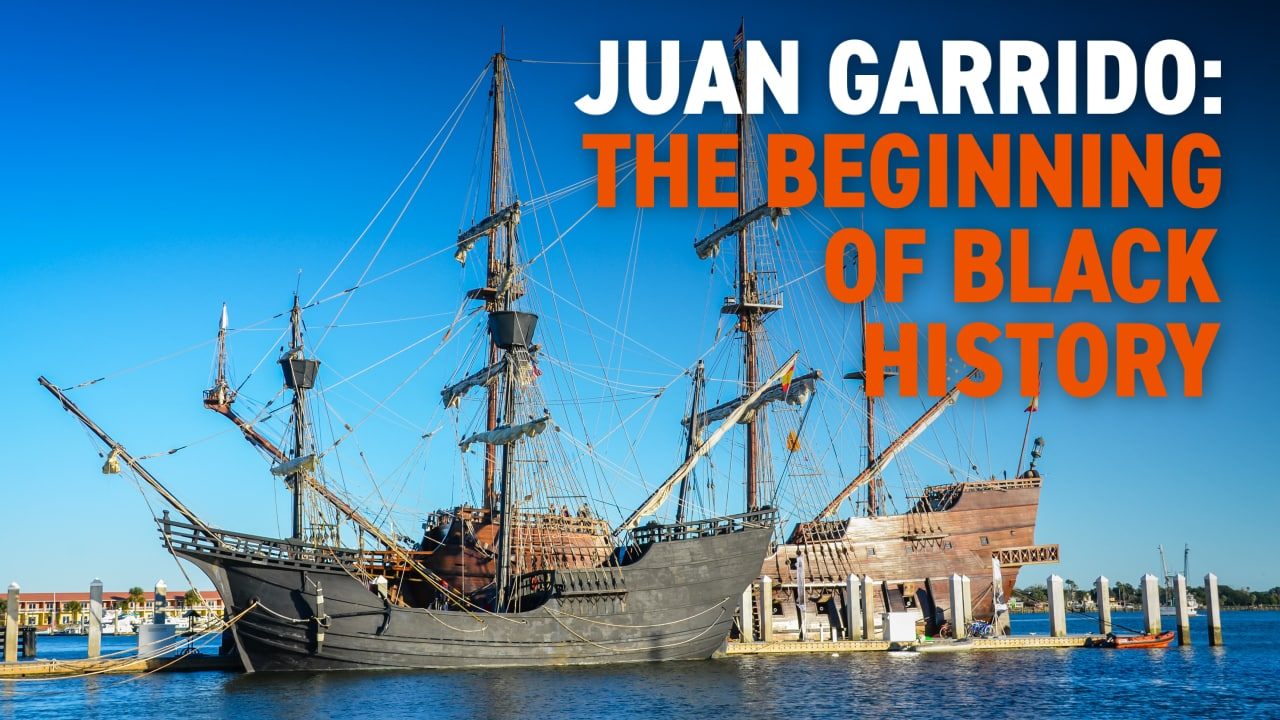 The Beginning of Black History: Juan Garrido | Black History in Two Minutes (or so)