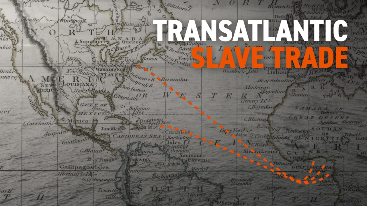 Transatlantoic Slave Trade | Black History in Two Minutes (or so)