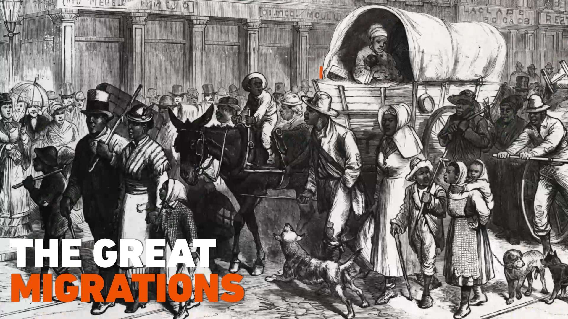 The Great Migrations | Black History in Two Minutes (or so)